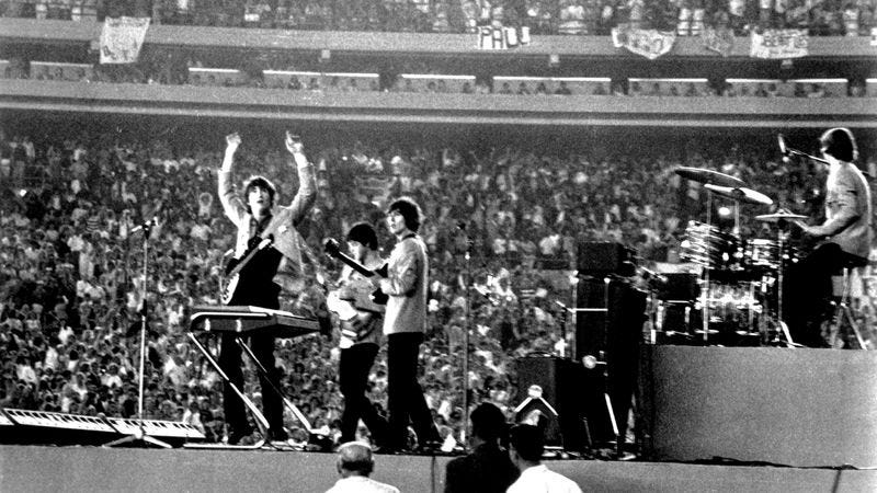 The Beatles at Shea Stadium (Photo: Getty Images, Michael Ochs Archives)
