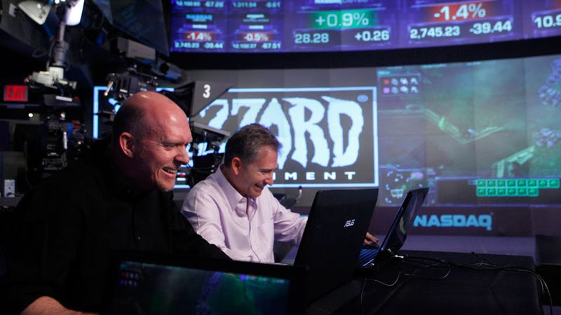 Illustration for article titled Blizzard Shuts Down NASDAQ