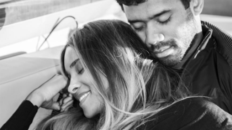 Illustration for article titled Ciara and Russell Wilson's Never-Ending Sexual Relations Have Gotten Her Pregnant
