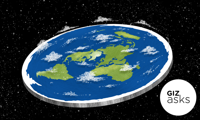 What if the earth suddenly turned flat illustration jim cookegizmodo gumiabroncs Images