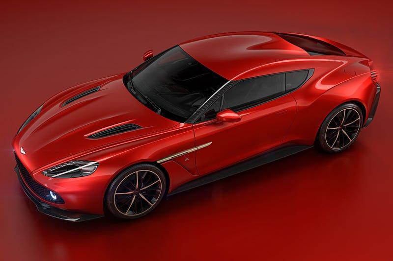 Illustration for article titled New Aston Zagato!