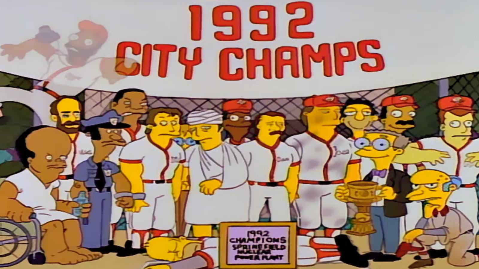"Morgan Spurlock made an hourlong mockumentary about ""Homer At The Bat"""
