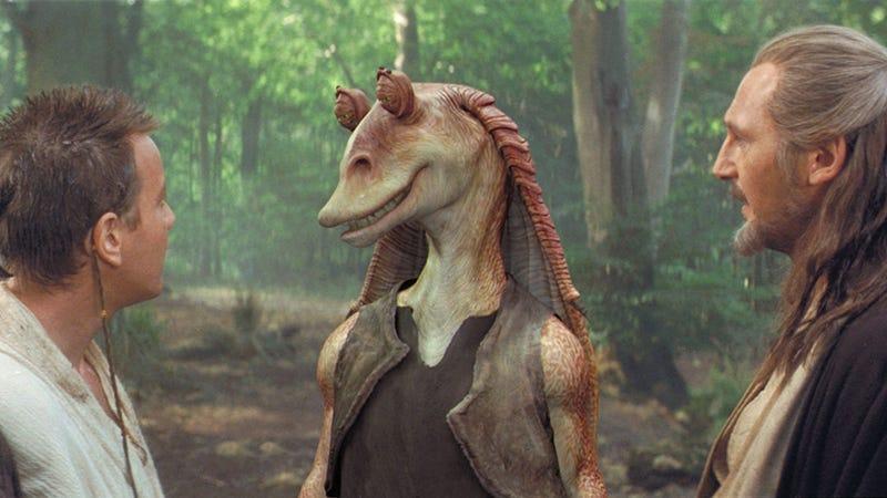 Illustration for article titled La pesadilla de ser el personaje más odiado de Star Wars, según el actor detrás de Jar Jar