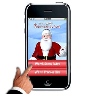 Illustration for article titled Santa Live iPhone App Pulled Due to Even More Controversy