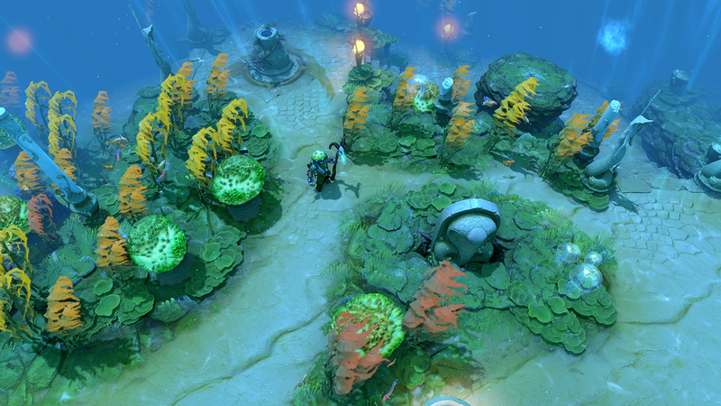 The International 7 Ditches Dota 2's Confusing Underwater Map After