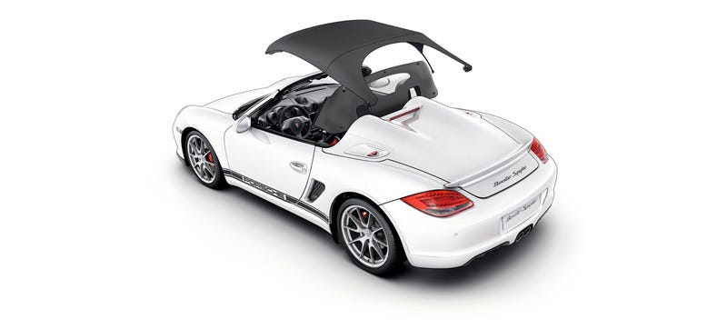 Illustration for article titled Porsche Confirms A New Boxster Spyder Is Coming Out This Year