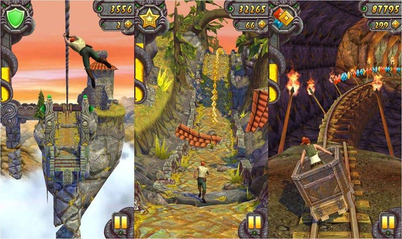 Illustration for article titled Llegó el día: ya te puedes descargar Temple Run 2 en iOS, y muy pronto en Android