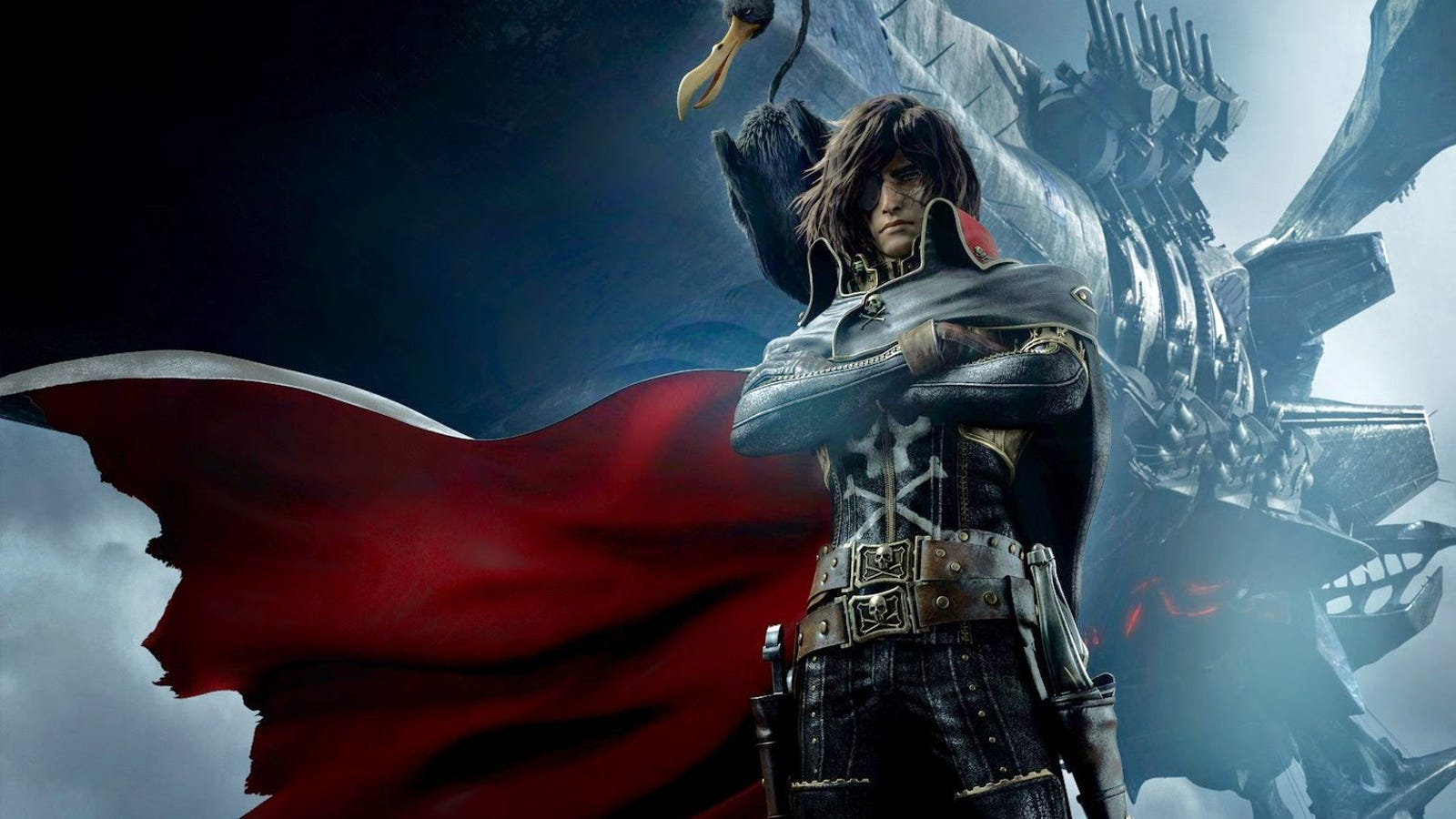 win a free pass to a screening of harlock space pirate. Black Bedroom Furniture Sets. Home Design Ideas