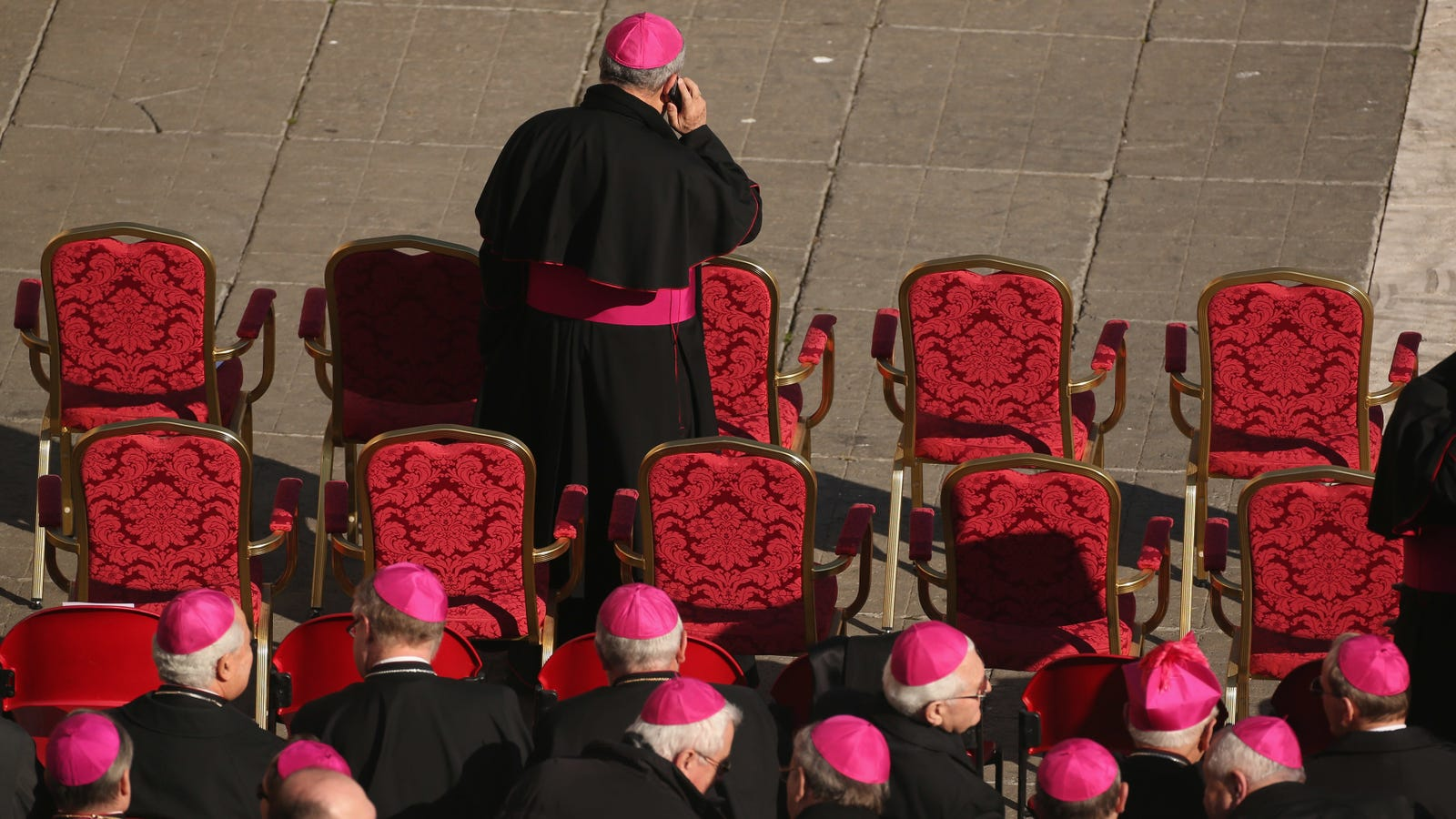 photo image Priests Are Performing Exorcisms Over the Phone Now