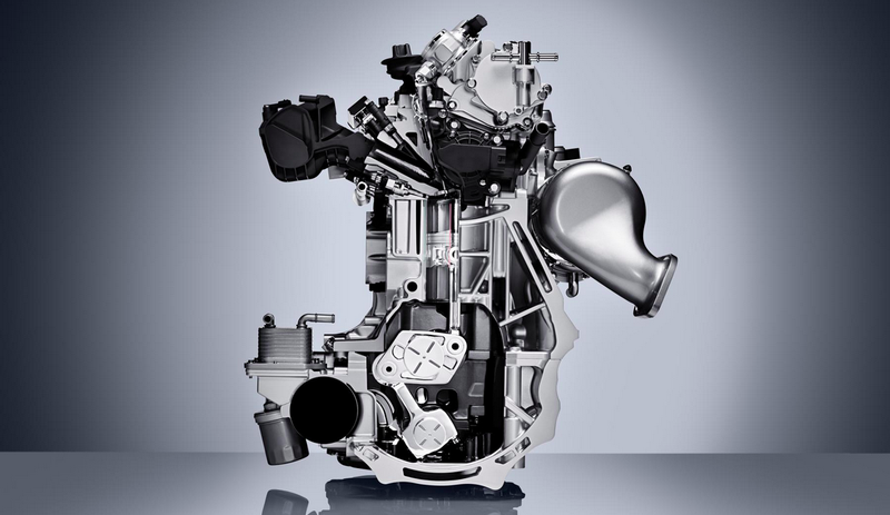 Illustration for article titled Infiniti's Diesel-Slaying Variable-Compression Engine Is Here And It Is Beautiful