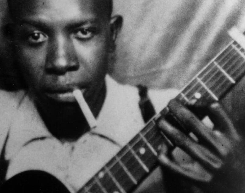 """Illustration for article titled """"Me and the Devil Blues (Take 2) """" - Robert Johnson (1938)"""