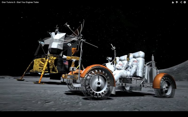Illustration for article titled GT6 To Feature Apollo 15 Lunar Rover