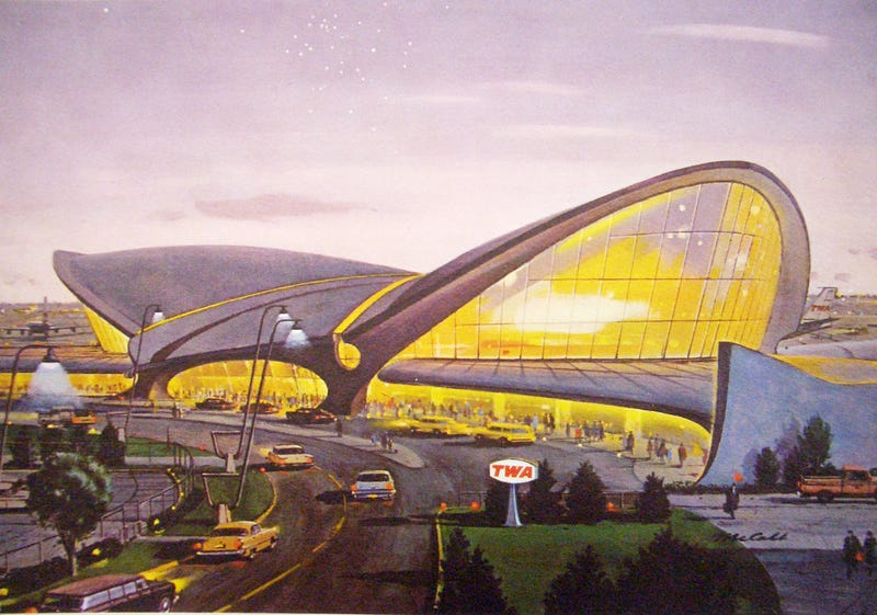 Illustration for article titled One of the Most Beautiful Airport Terminals Ever Built Is Being Preserved as a Hotel