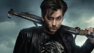 Illustration for article titled Get a good awesome look at David Tennant, Vampire Hunter