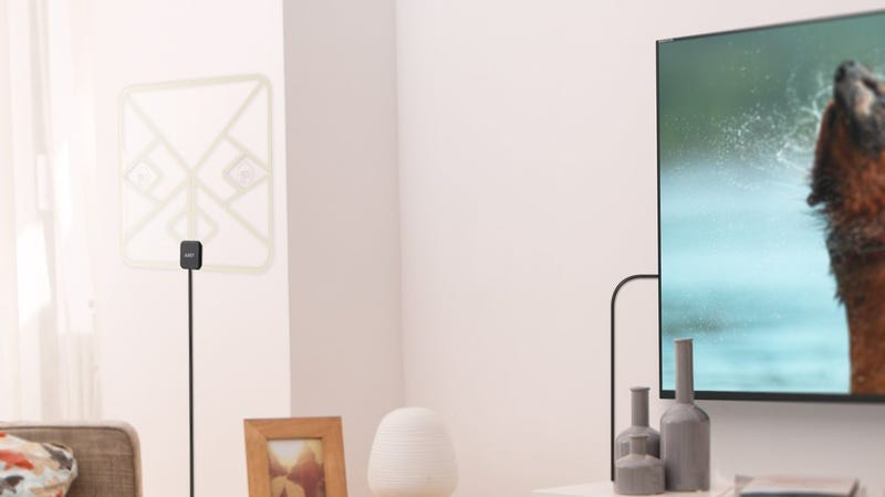 Aukey Amplified HDTV Antenna | $10 | Amazon | Promo code ZQCJ6ORB