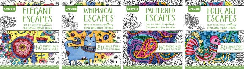 Crayola ahora tiene su propia línea de libros para colorear para adultos