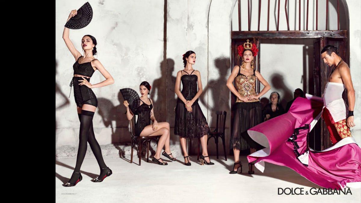 461d2306f038 Awesome Spanish Grandmas Star in New Dolce   Gabbana Ad
