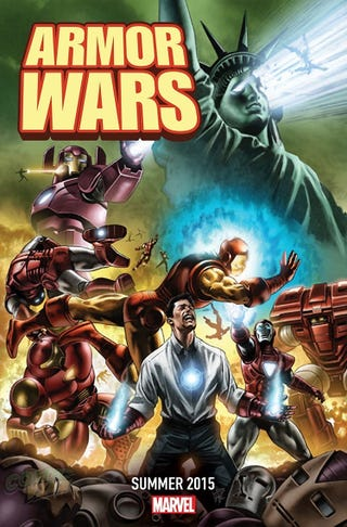 Illustration for article titled Marvel Comics Is Redoing Armor Wars, Starring Galactus-Buster Iron Man