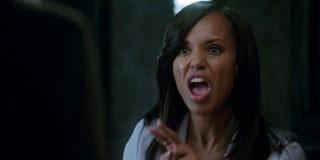 Olivia Pope loses it.ABC