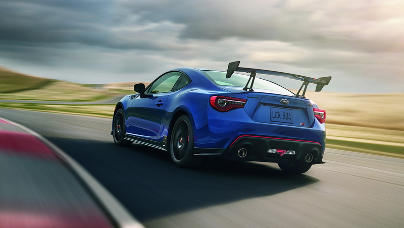 The Subaru BRZ tS is going State side