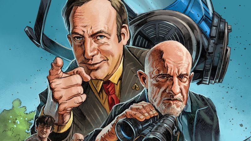 Illustration for article titled Better Call Saul comic book released as a prequel to the prequel