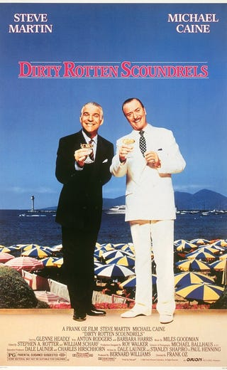 Illustration for article titled Your (Occasional) Movie Guide to Movies You Should Watch Again: Dirty Rotten Scoundrels