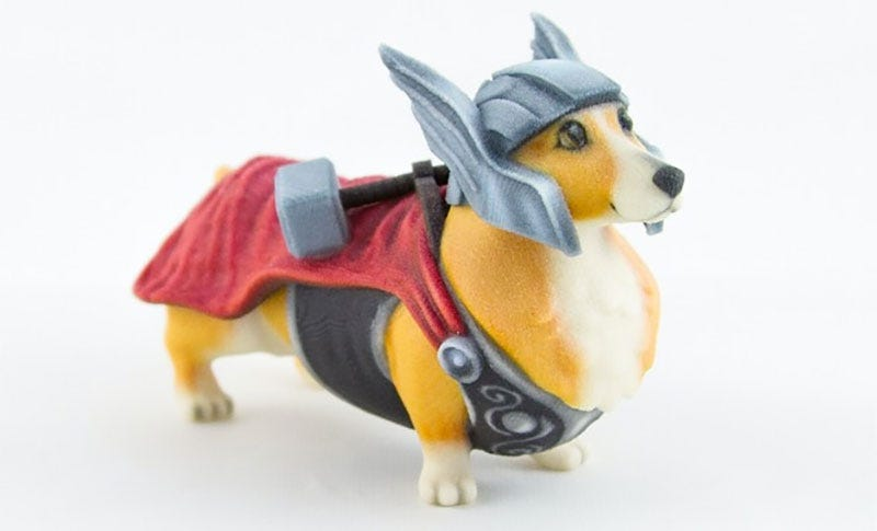 Illustration for article titled Dog Cosplay, Immortalized