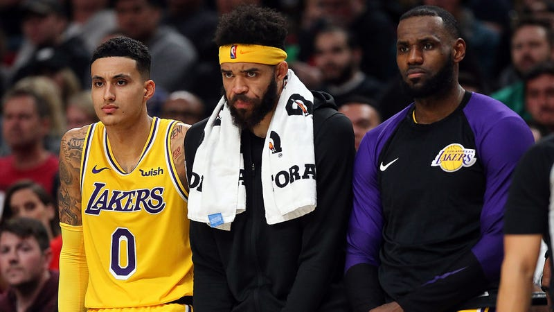 Illustration for article titled LeBron And Lakers Hoping Horrible Series Of Failed Betrayals Brings Them Closer As Team