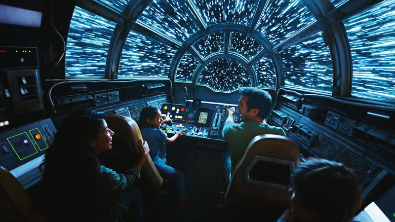 Smugglers Run is the only ride that'll be open when Galaxy's Edge opens May 31 in Anaheim.