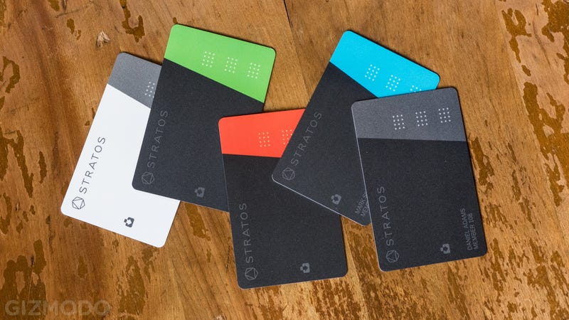 Illustration for article titled Stratos Card Is Another Smart Payment Card That Wants To Rule Them All