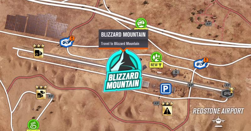 How To Get To Forza Horizon 3's New Blizzard Mountain