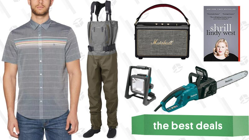 Illustration for article titled Saturday's Best Deals: Marshall Speaker, Original Penguin, Burrow, and More