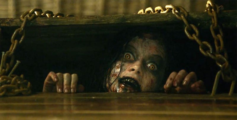 Illustration for article titled Film4 is currently showing the banned version of Evil Dead (2013)