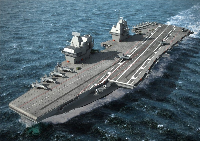 """Illustration for article titled America's """"Carrier Gap"""" Crisis Highlights A Need For Smaller Aircraft Carriers"""
