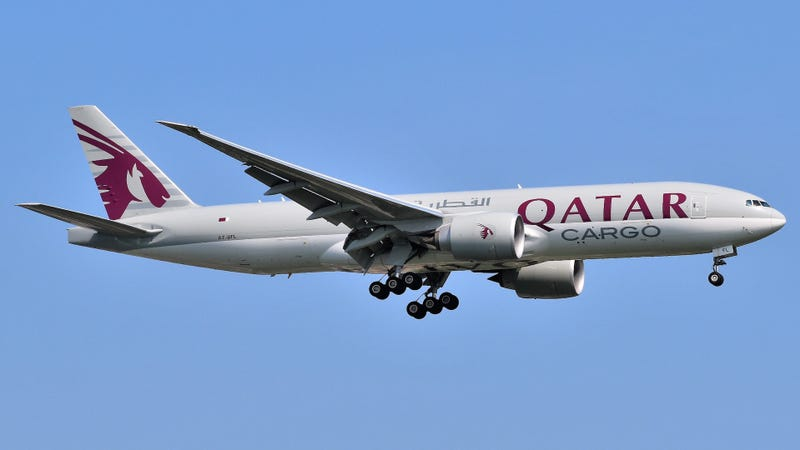 Un Boeing 777F de Qatar Airways Cargo