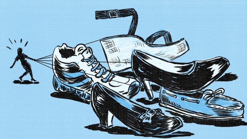 Illustration for article titled Year of the Clean Person: This July, Deal With Your Shoes