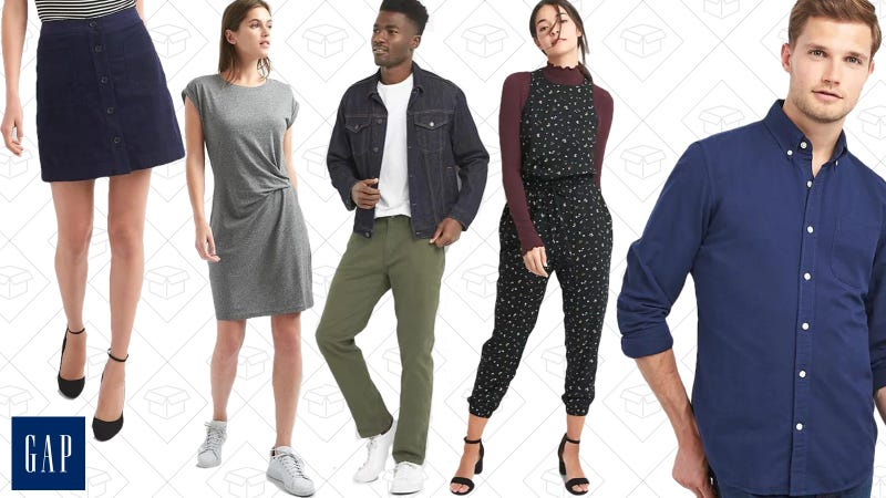 40% off everything, up to 75% off select styles | GAP | Use code HAPPY