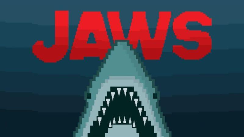 Jaws (Tubarão) 8 bits - Toon Doom (Screenshot: YouTube)