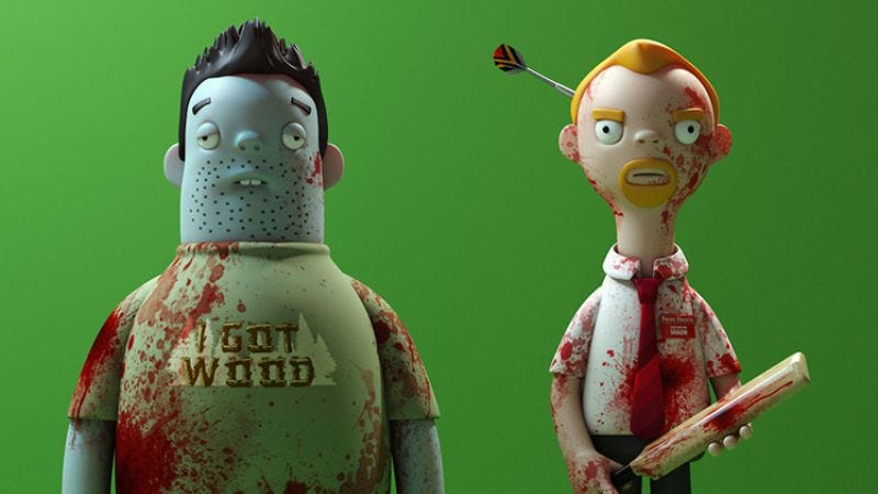 Illustration for article titled Let's all pine for these digital mock-ups of Cornetto Trilogy vinyl figures