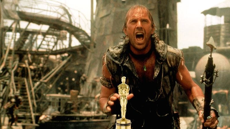 Illustration for article titled Kevin Costner's not sure you know how much the world loves Waterworld
