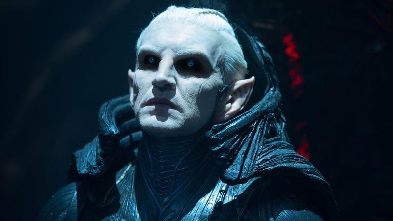 Christopher Eccleston as Malekith in Thor: The Dark World (2013)