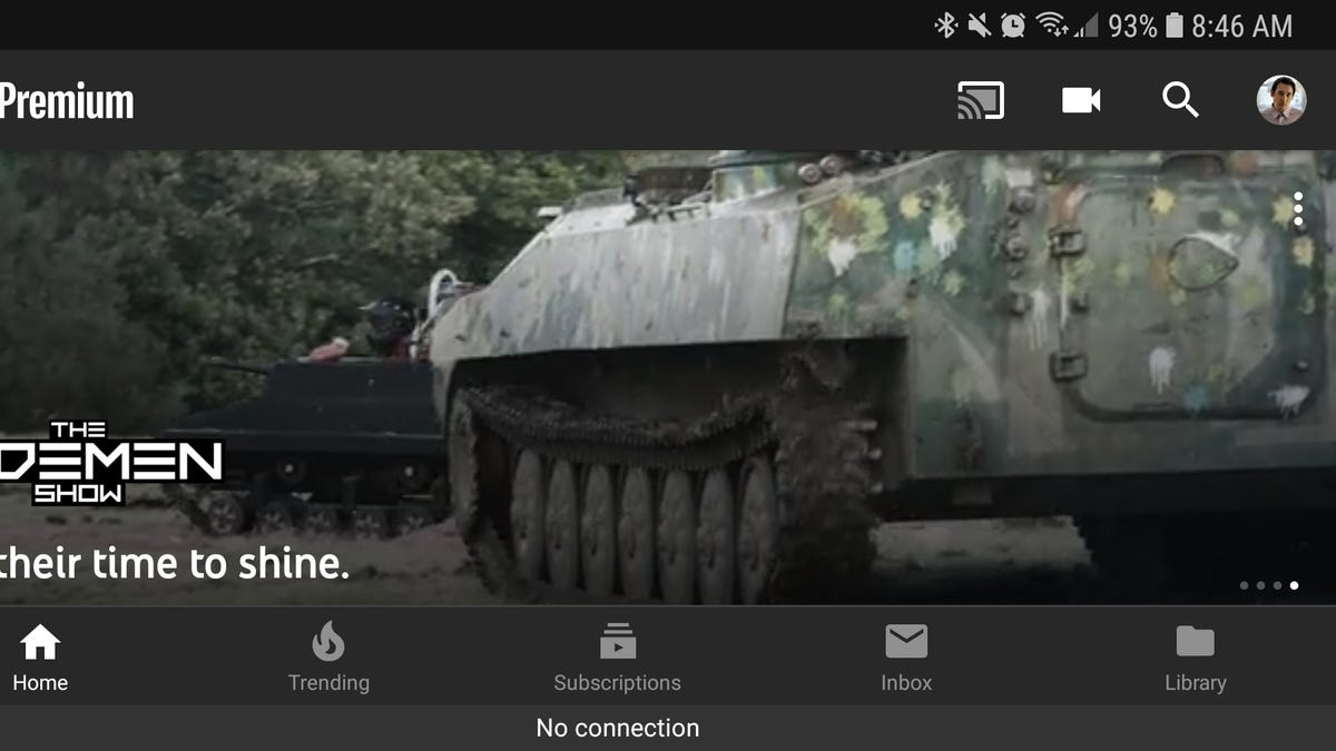 how to night mode youtube app