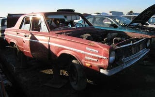 Illustration for article titled Even a Slant Six Couldn't Save It: 1966 Dodge Dart 270