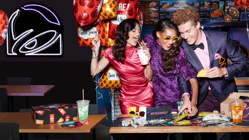 Illustration for article titled PARTY by Taco Bell allows you to PARTY at Taco Bell
