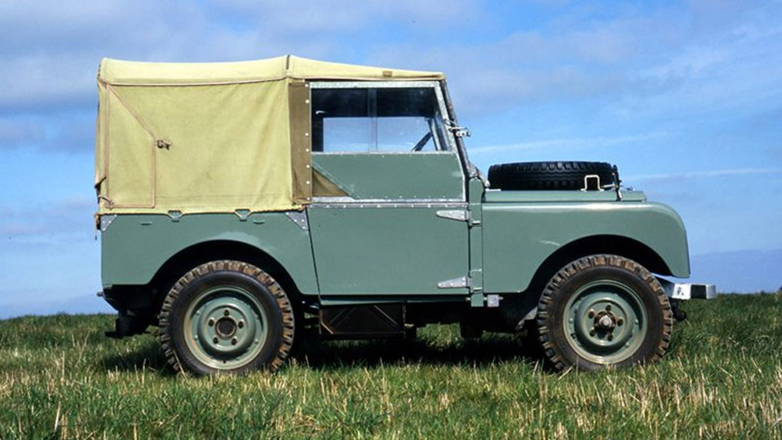 the original land rover debuted today in history 1948. Black Bedroom Furniture Sets. Home Design Ideas