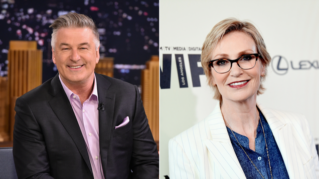 Alec Baldwin and Jane Lynch are the first new Inside The Actors Studio hosts