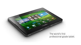 Illustration for article titled Today in the BlackBerry Holiday Hall of Fame: the BlackBerry PlayBook