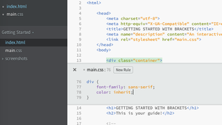 Illustration for article titled Adobe's Brackets is a Free Text Editor for Web Developers