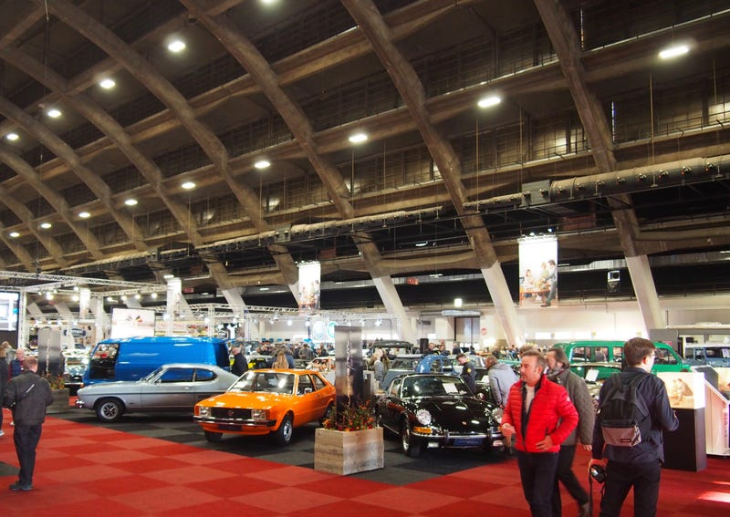 Illustration for article titled All The Cars: Interclassics Brussels
