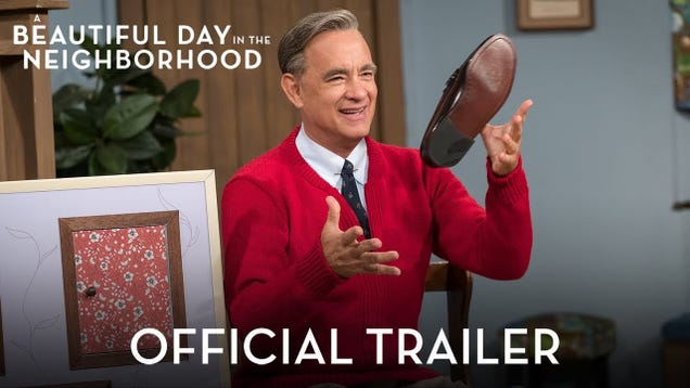 The first trailer for A Beautiful Day In The Neighborhood is here and we're already a damn mess